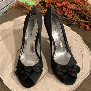 Gianni Bini black heels (worn once)